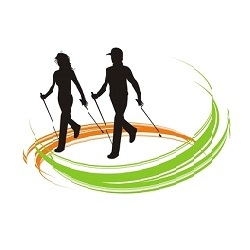 логотип скандинавской ходьбы